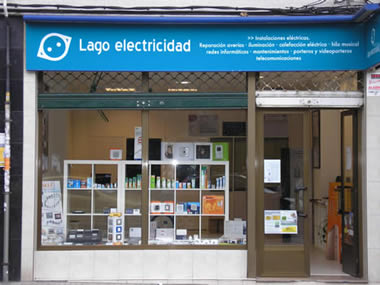 local lago electricidad